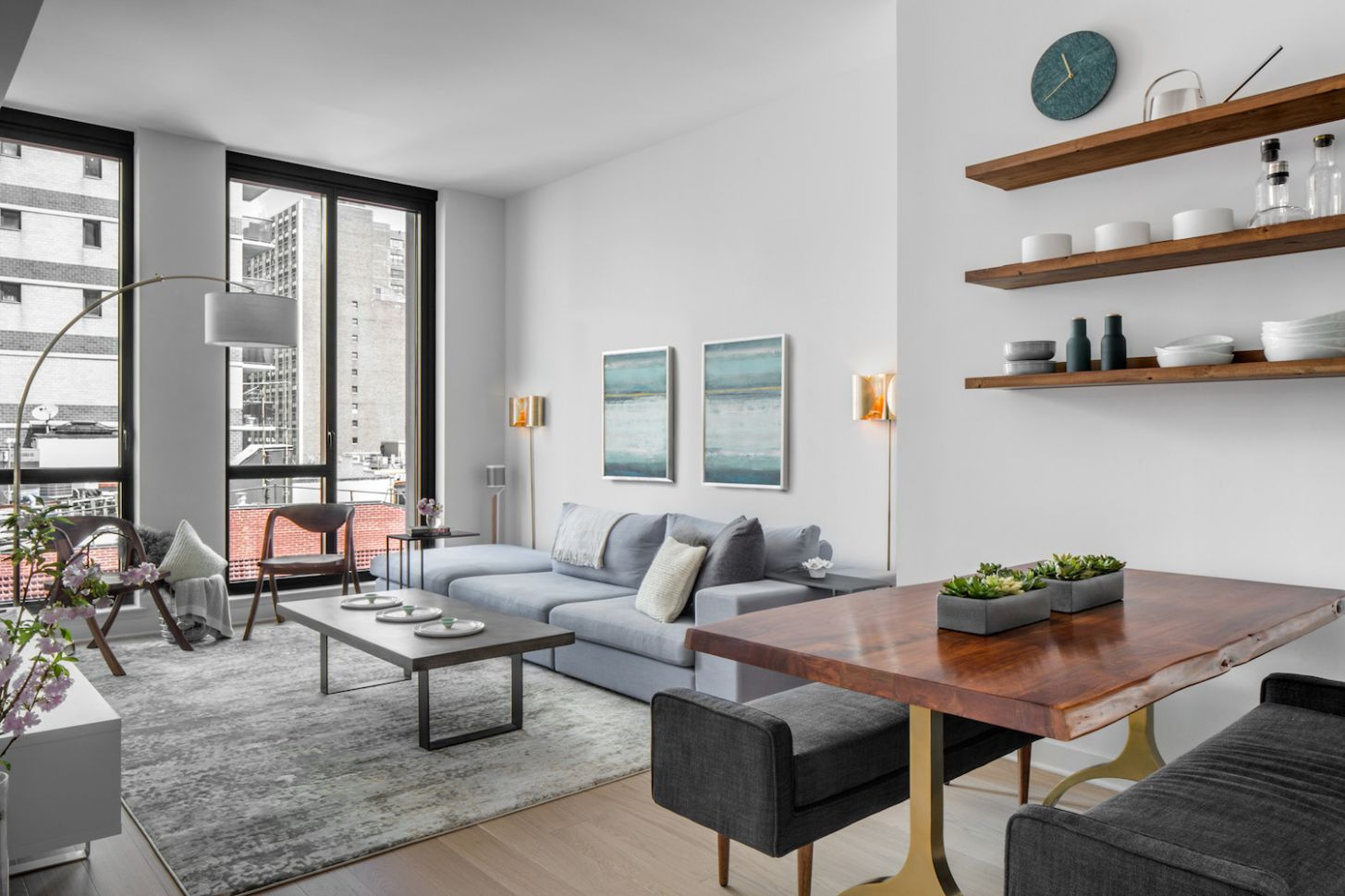 Before & After: A Well-Manicured Minimalist Apartment | Décor Aid - minimalist apartment decor ideas