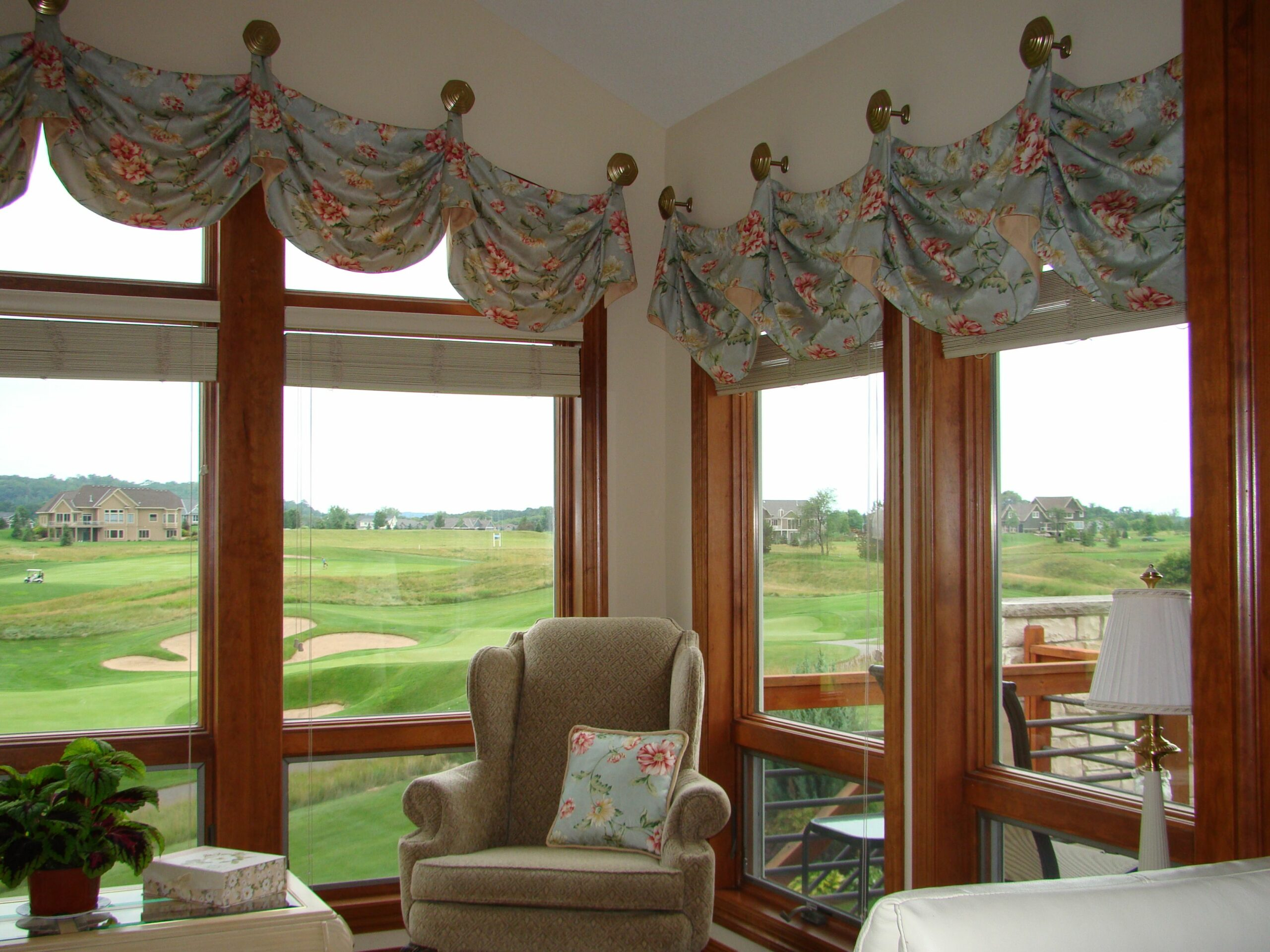 Before and After: Challenging Arched Window Valance | A Little ...