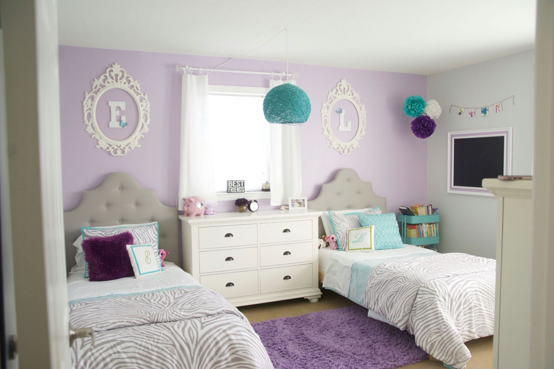 Before starting to decorate, check out these awesome purple decor ..