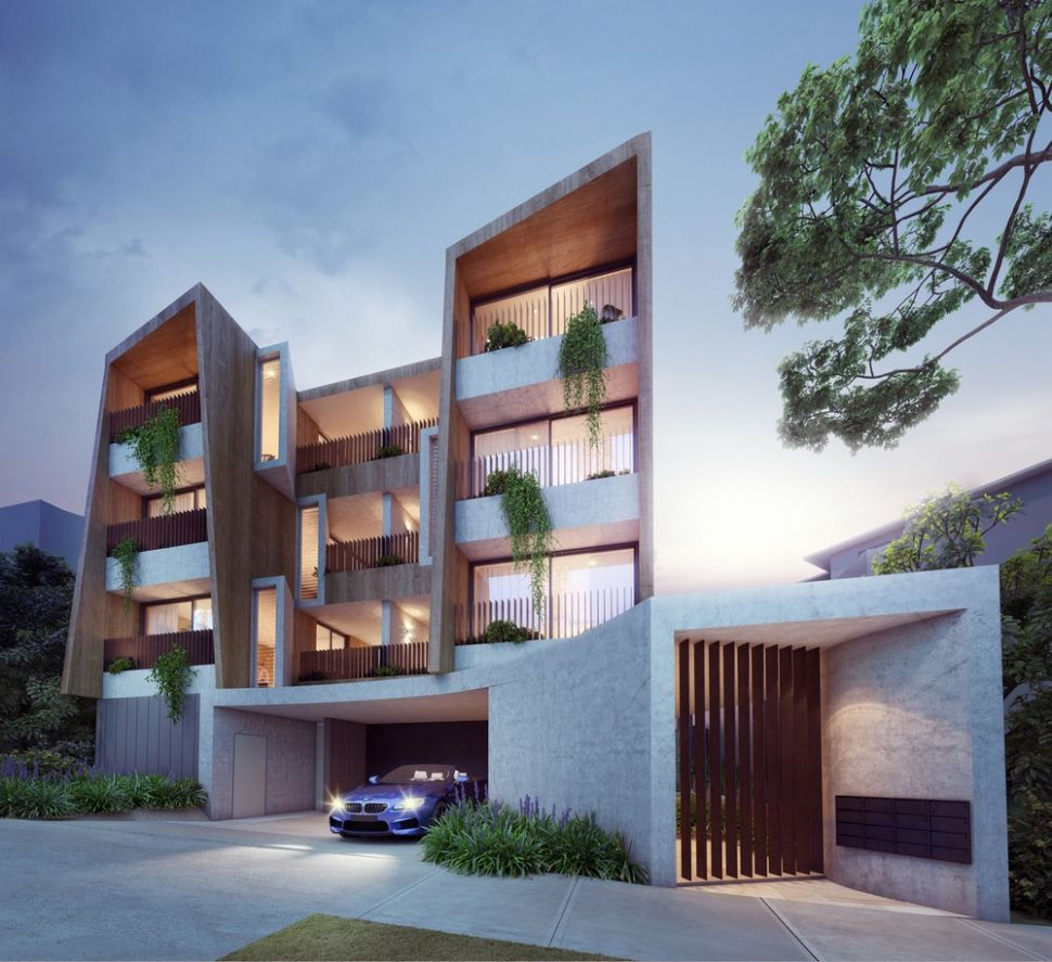 Bellevue Hill Apartment Building Sydney, NSW Residential - e-architect - apartment design nsw