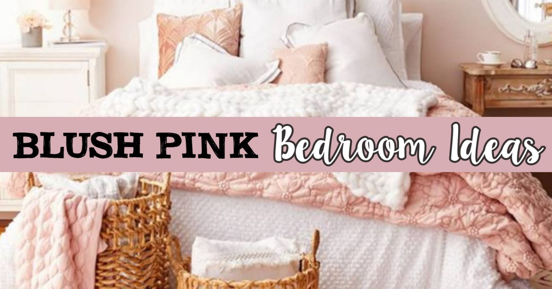 Best Choice Of Pink Bedroom Decor On Blush Ideas Dusty Rose And ..