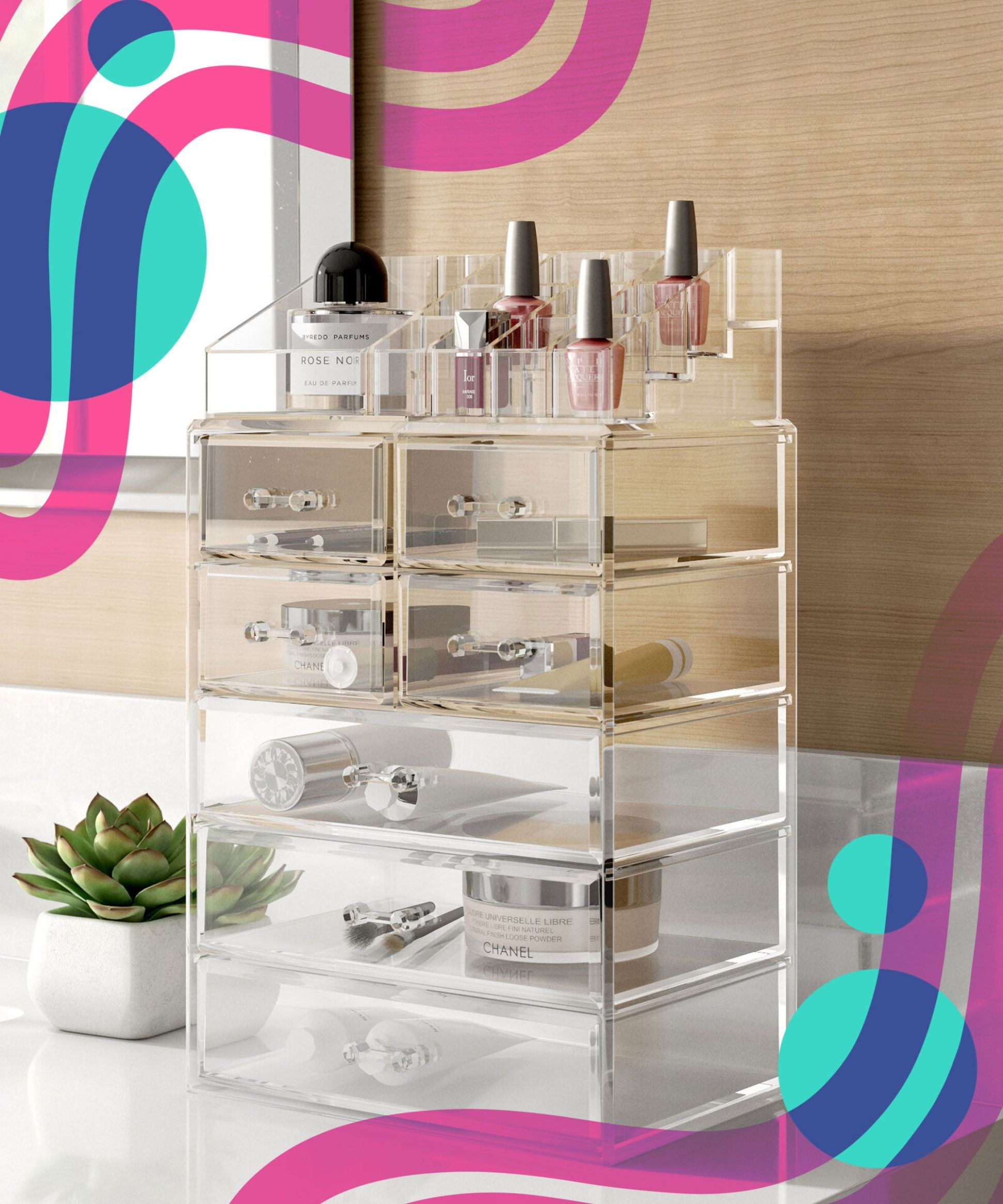 Best Makeup Organizers For Beauty Product Storage 10 - makeup room organiser