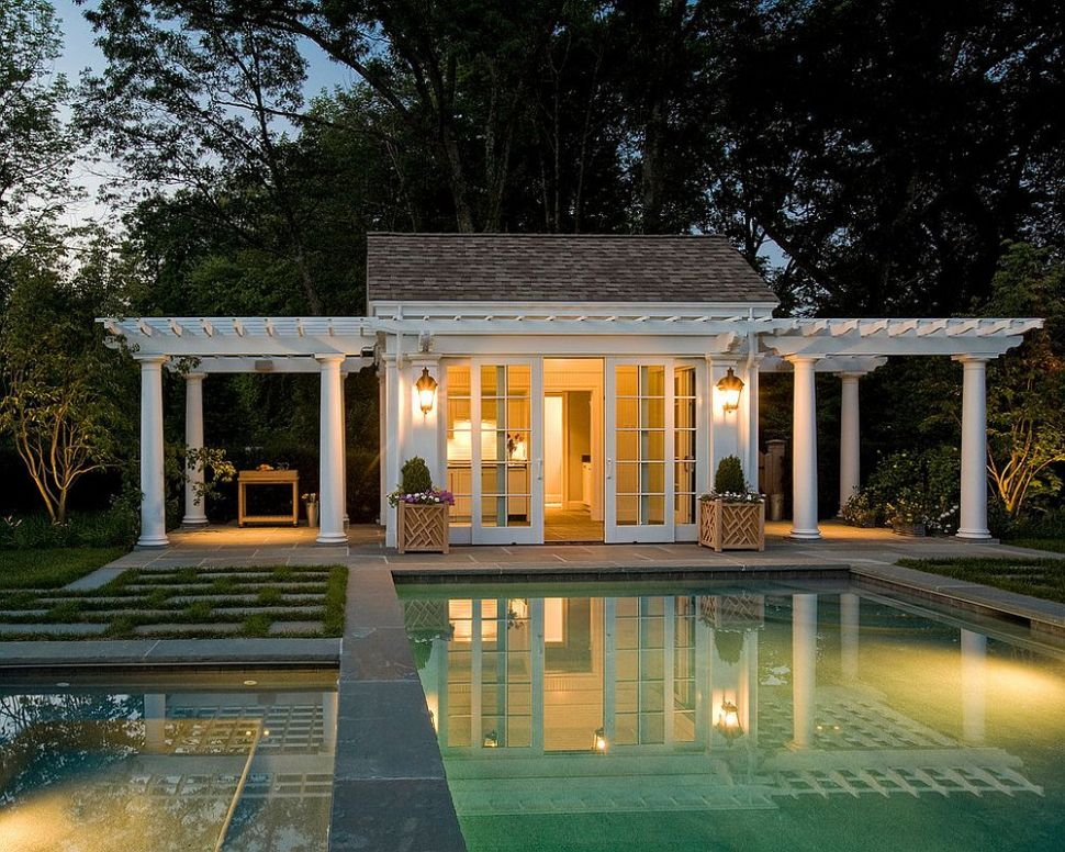 Best Pool House Design Photos Decoration Ideas Home Pools Outdoor ...