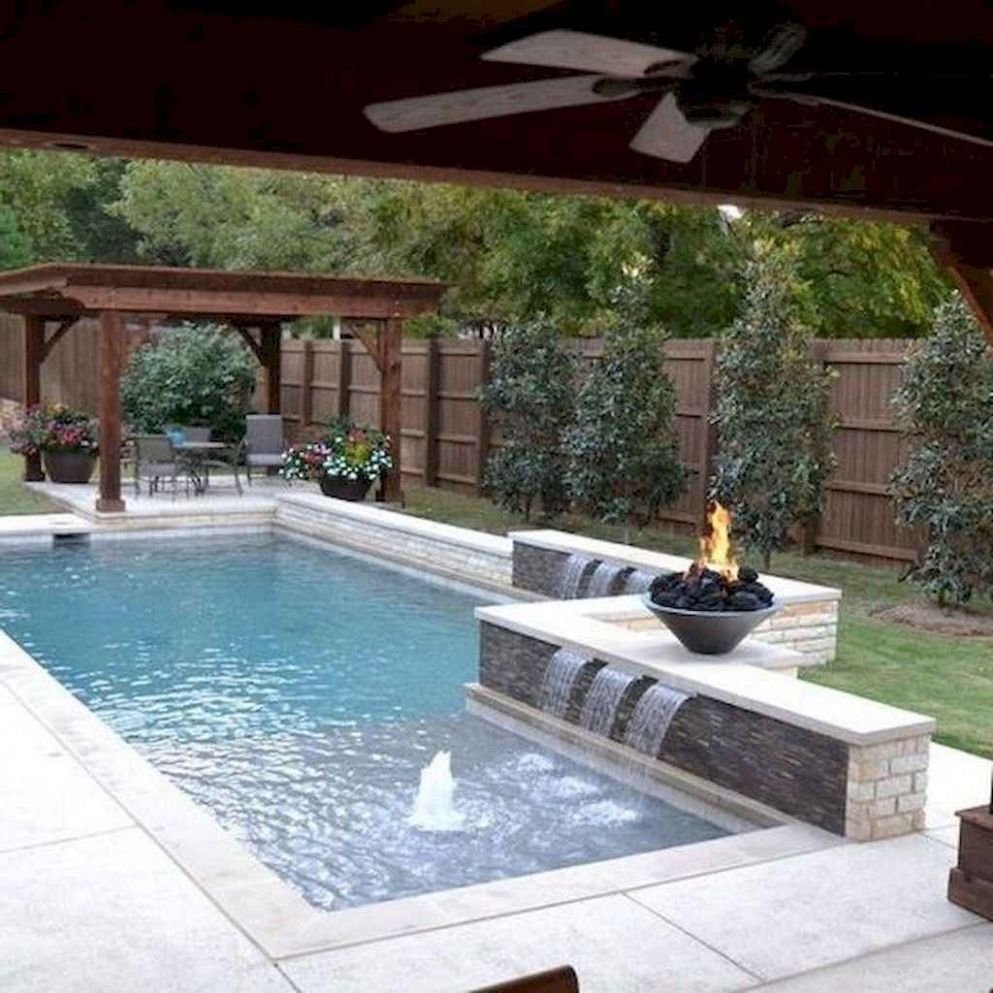 Best Swimming Pool Ideas for Small Backyard (12 in 12 | Swimming ...