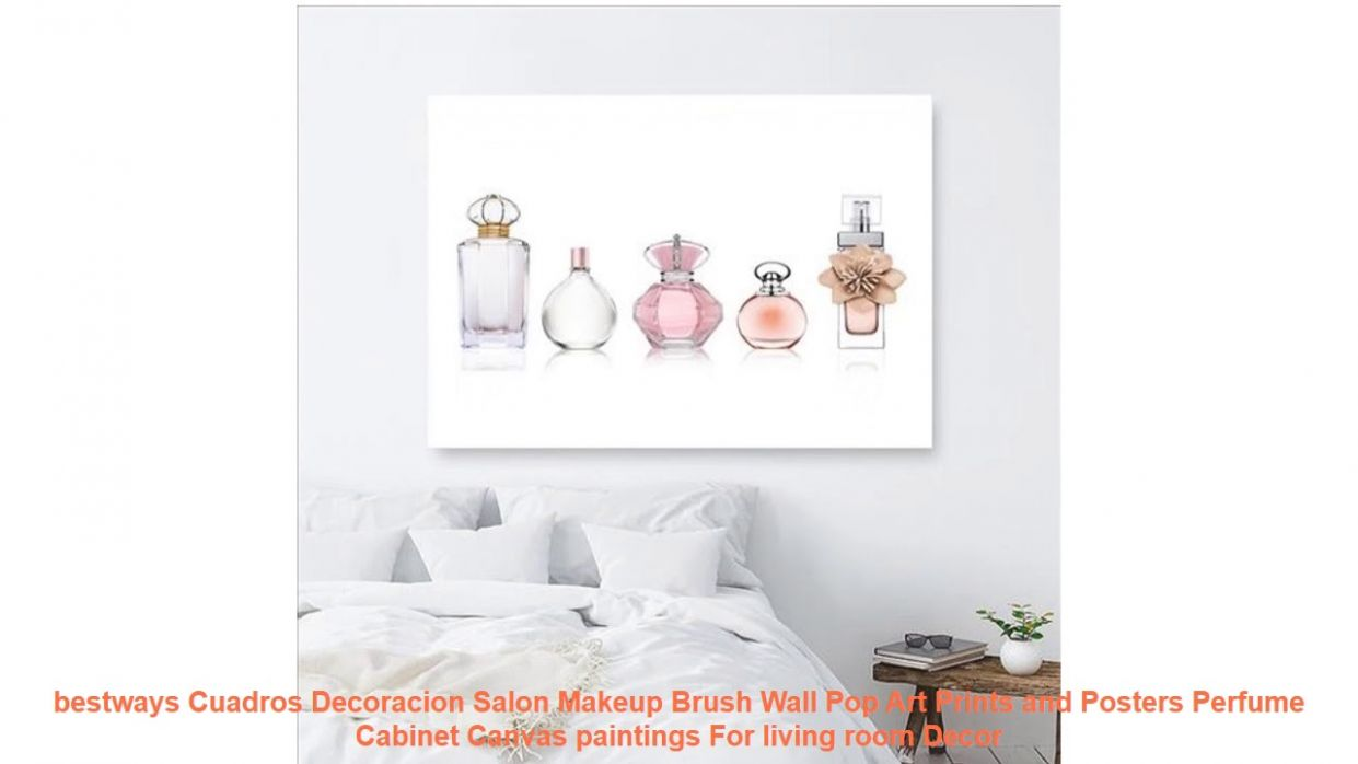 bestways Cuadros Decoracion Salon Makeup Brush Wall Pop Art Prints and