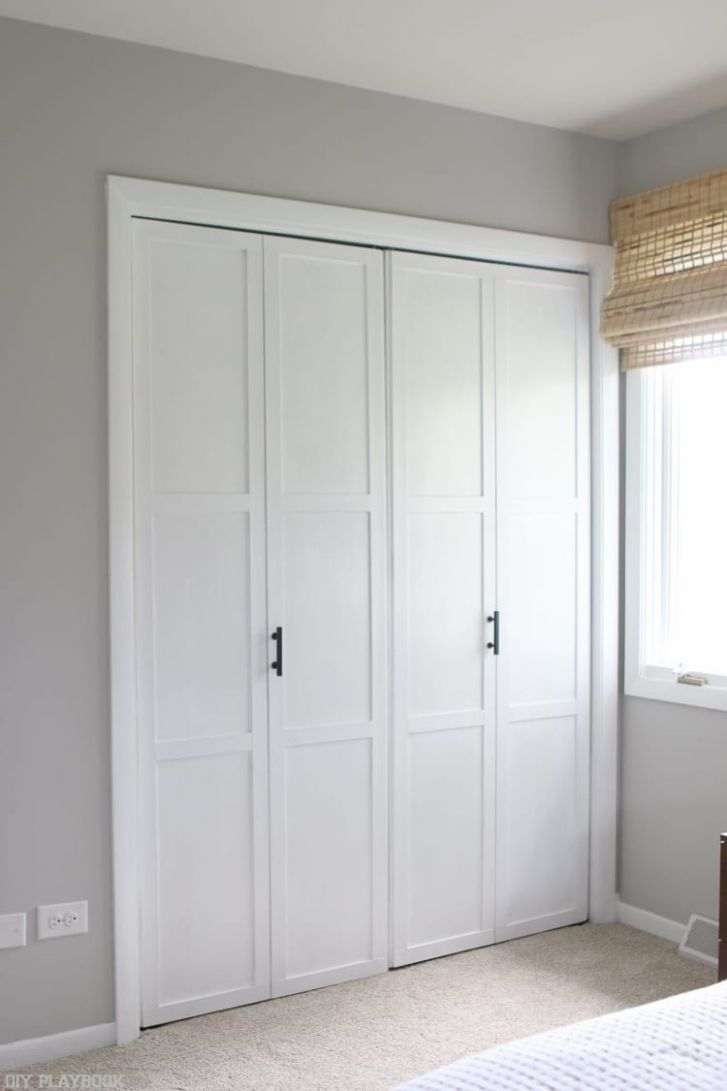 Bifold Closet Doors At Menards - Image of Bathroom and Closet