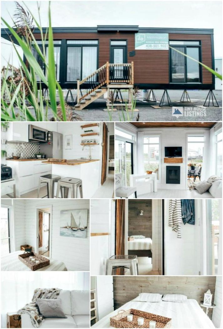 Billy The Tiny House - Tiny House for Sale in Napierville, Quebec ..