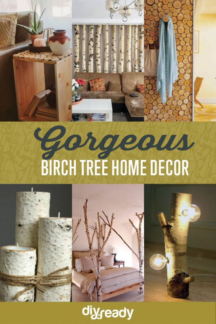 Birch Tree Home Decors DIY Projects Craft Ideas & How To's for ...