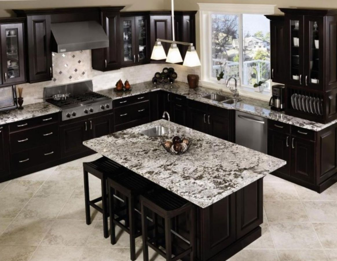 Black Kitchen Cabinets Ideas Homes Create Distressed Cabinet Color ...