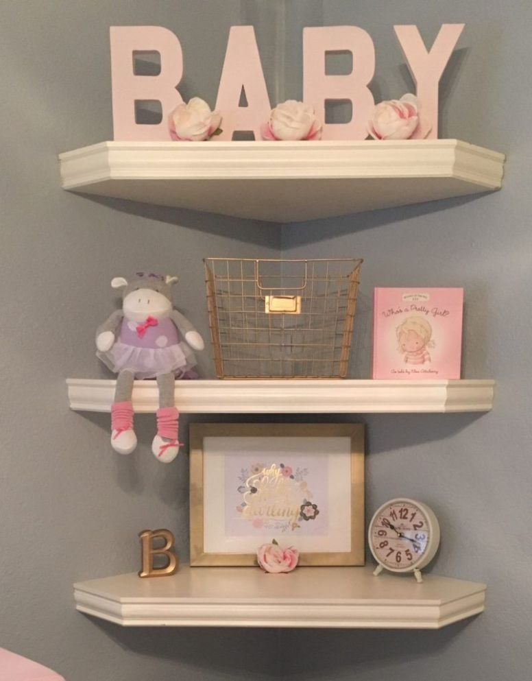 Blair's Blushing Nursery (With images) | Baby nursery organization ...