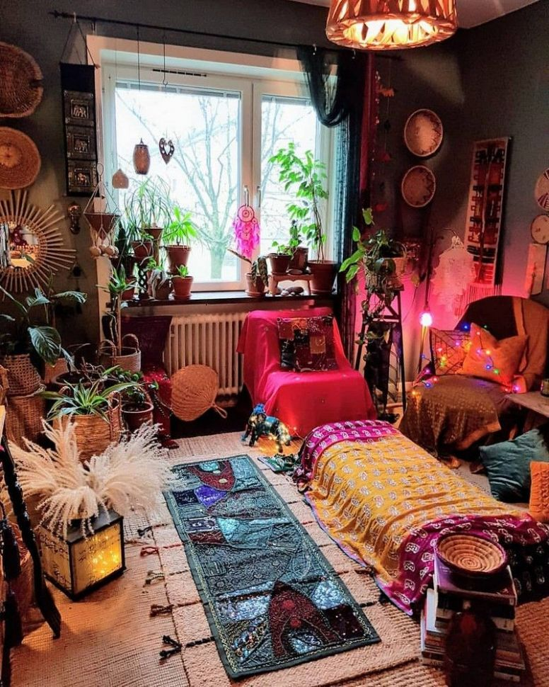 Bohemian Decorating Ideas and Designs (With images) | Boho chic ..