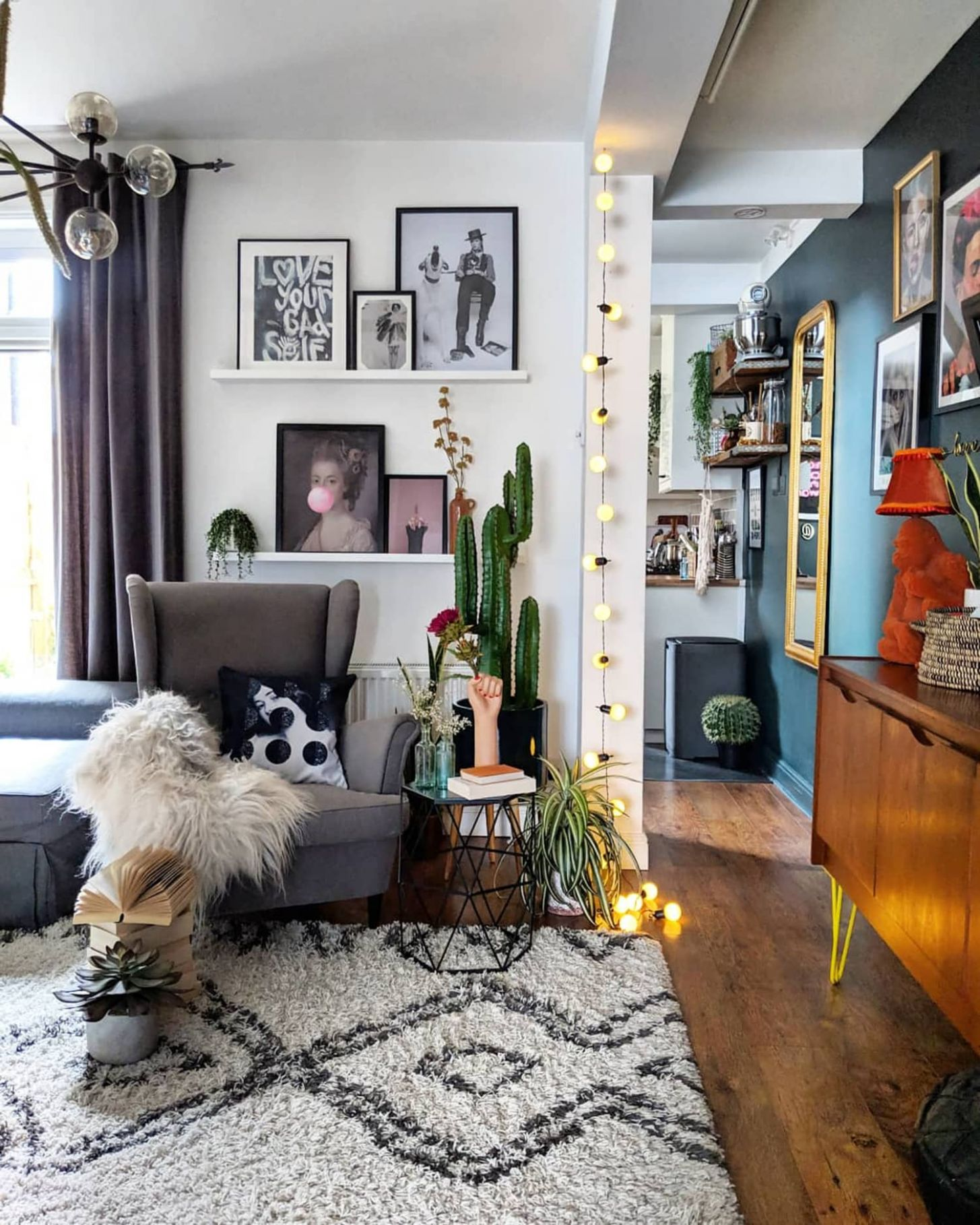 Bold and Eclectic Home Decor Styling Ideas | Apartment Therapy
