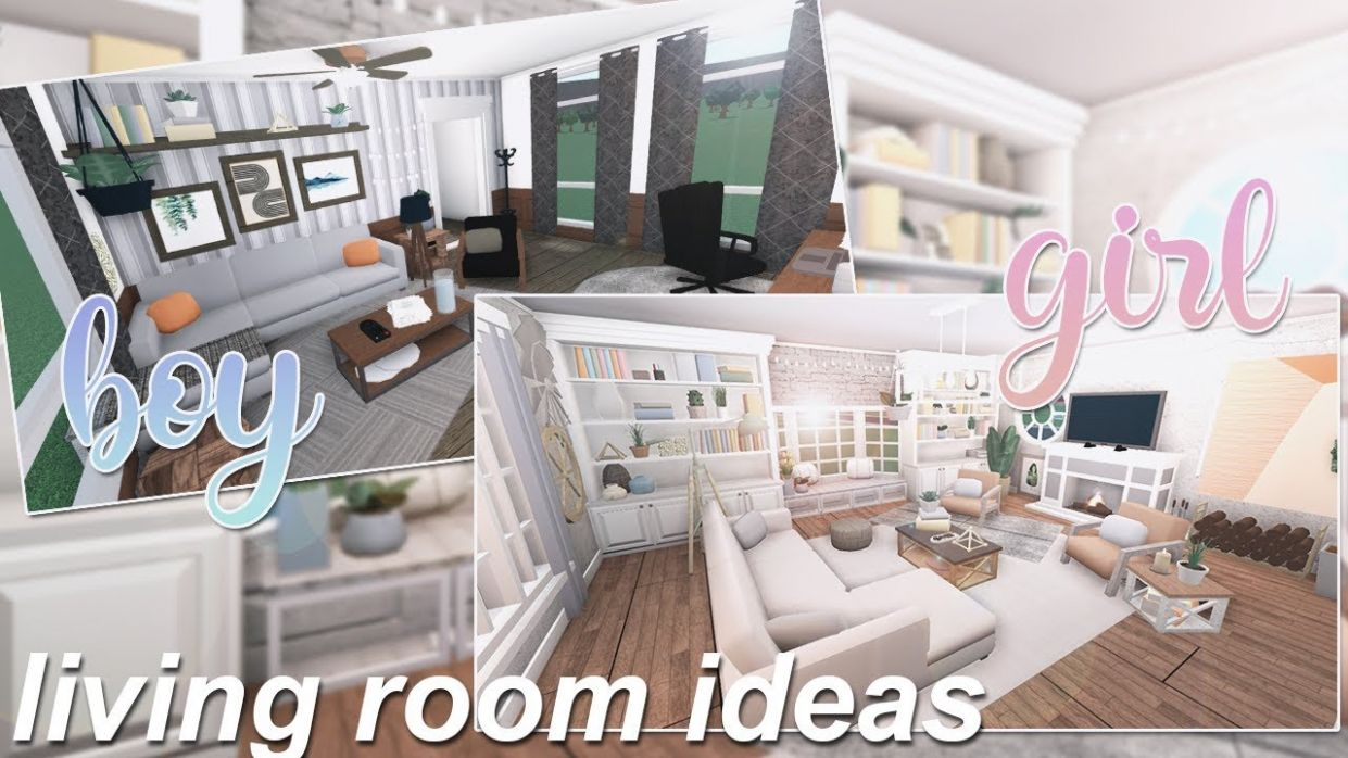 Boy & Girl Living Room Ideas | Roblox Bloxburg - living room ideas bloxburg