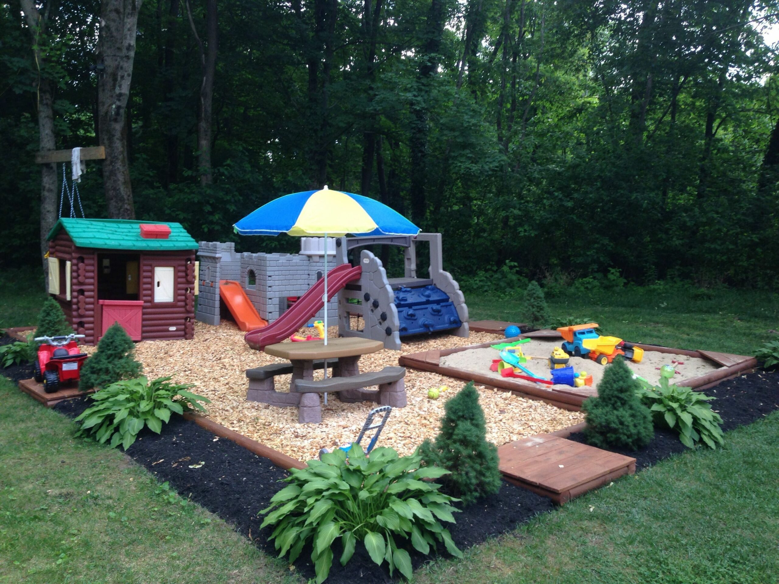 Brillian Backyard Ideas For Kids | Play area backyard, Kid ..