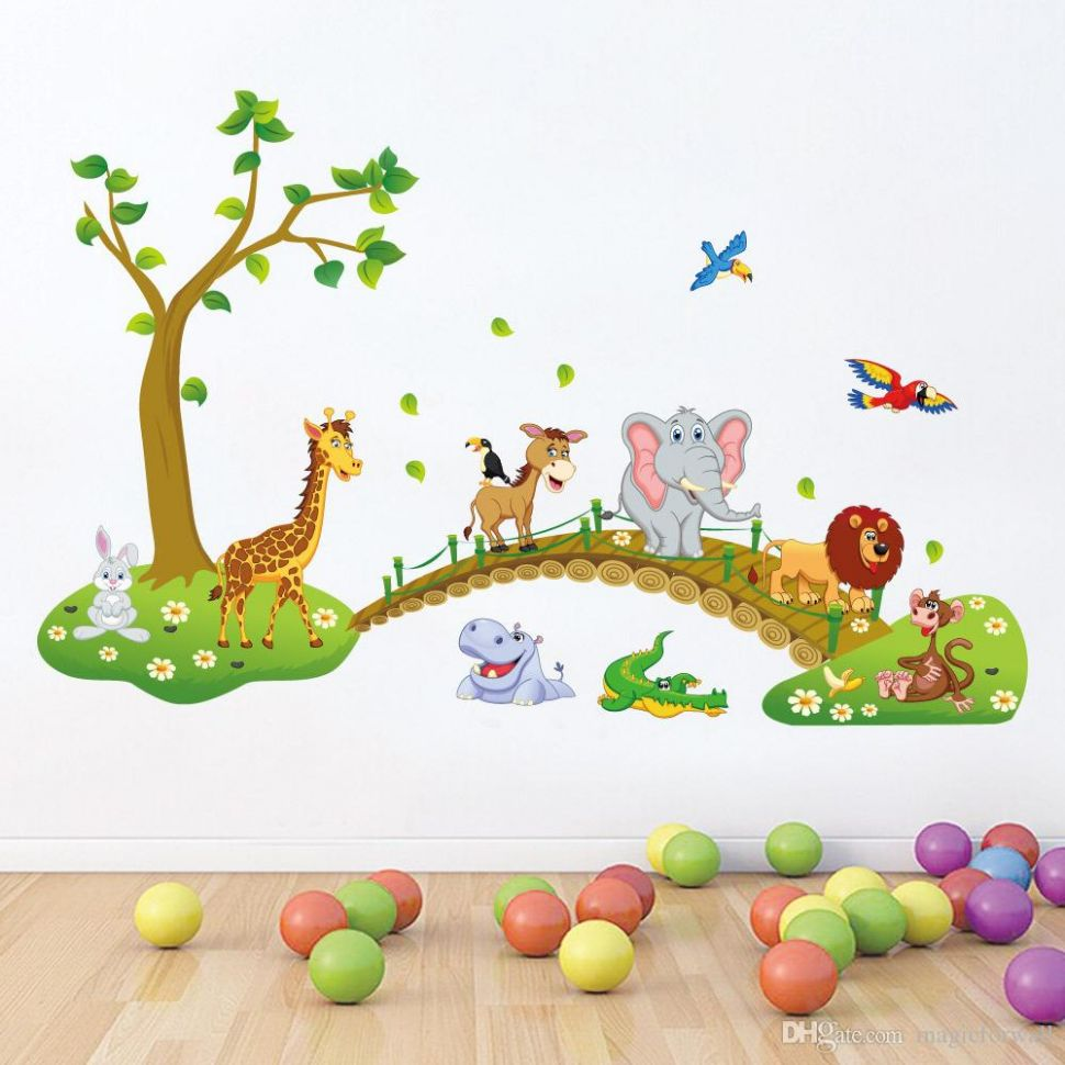 Brilliant Baby Room Wall Art Kid Nursery Decor Decal Sticker Cute ..