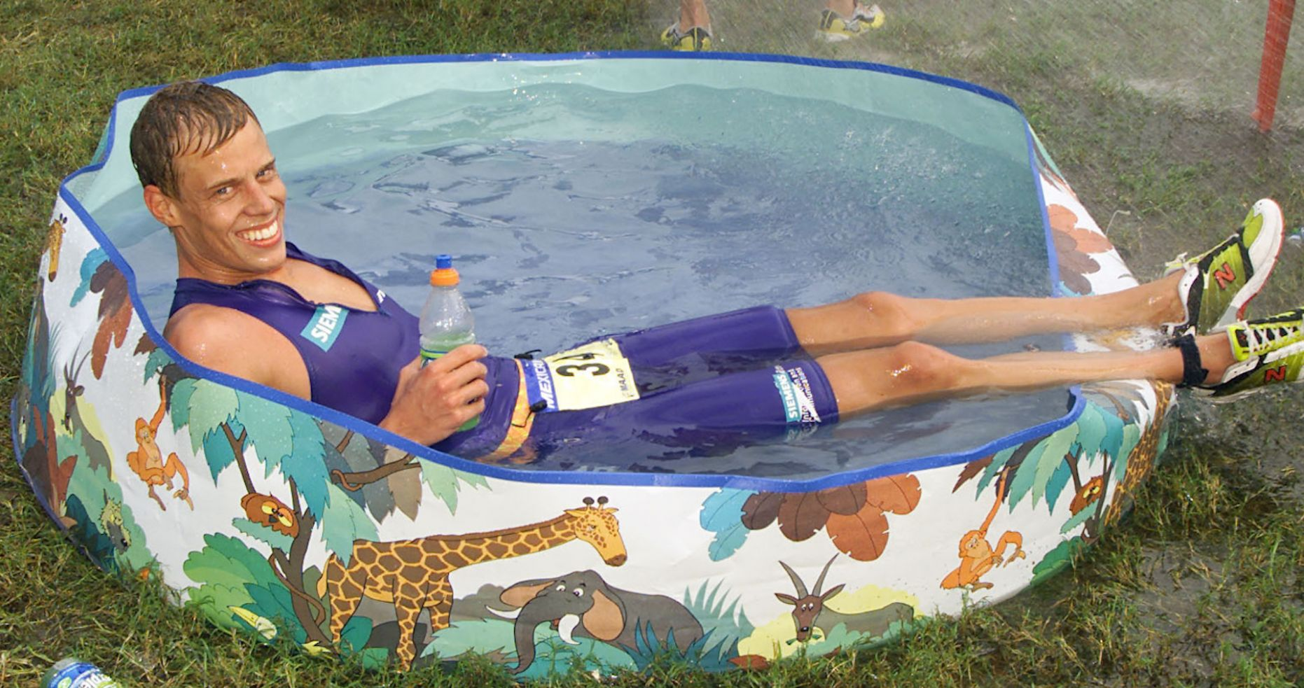 Buy a kiddie pool for your adult self this summer - kiddie pool ideas for adults
