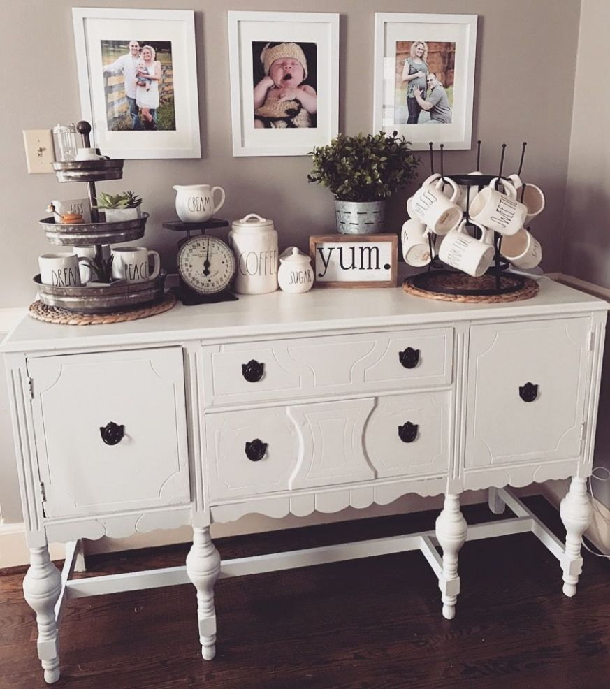Cabinet envy (With images) | Dining room buffet table decor ...