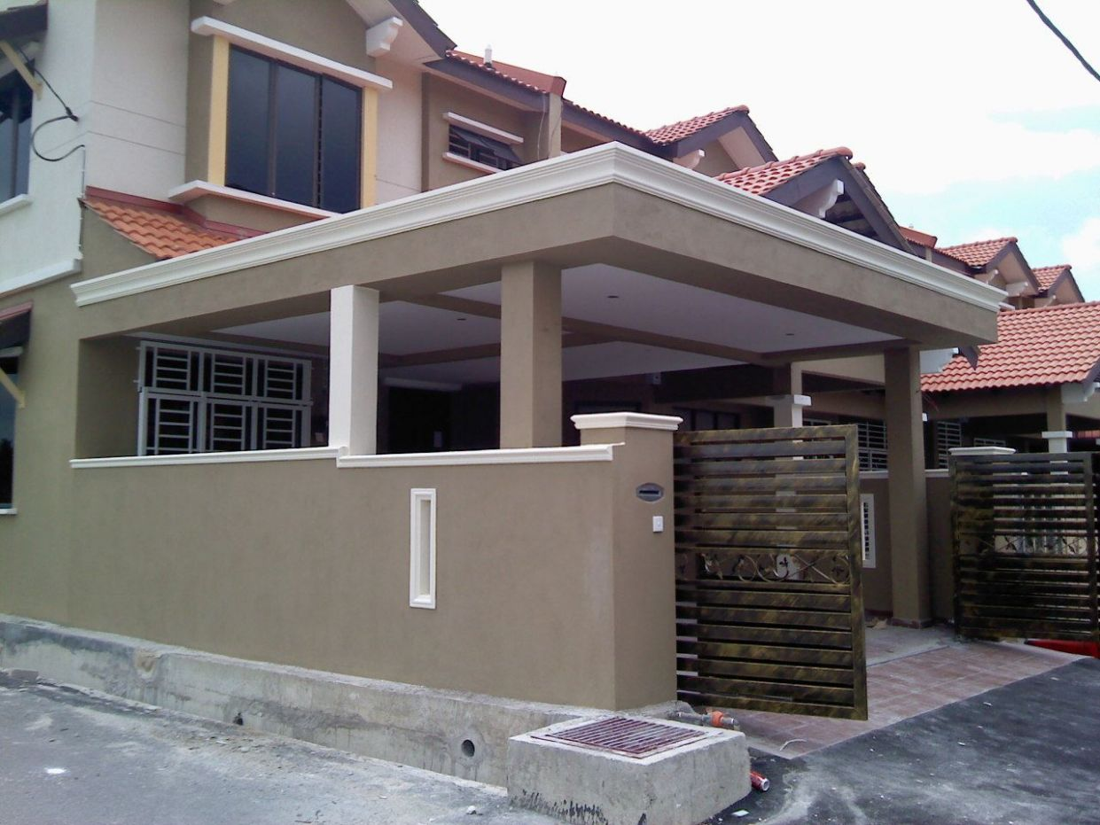 Carporch (With images) | Porch gate design, Porch extension, Small ...