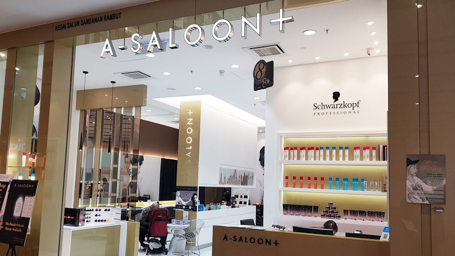 Chapter 9: First VIsit to Melawati Mall | A-Saloon & Aster Spring - baby room melawati mall