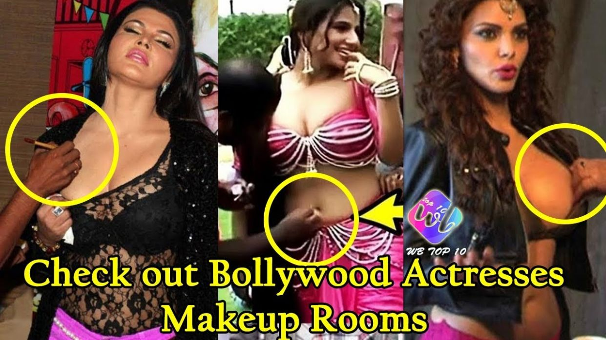 Check out Bollywood Actresses Makeup Rooms Behind the Scene ..