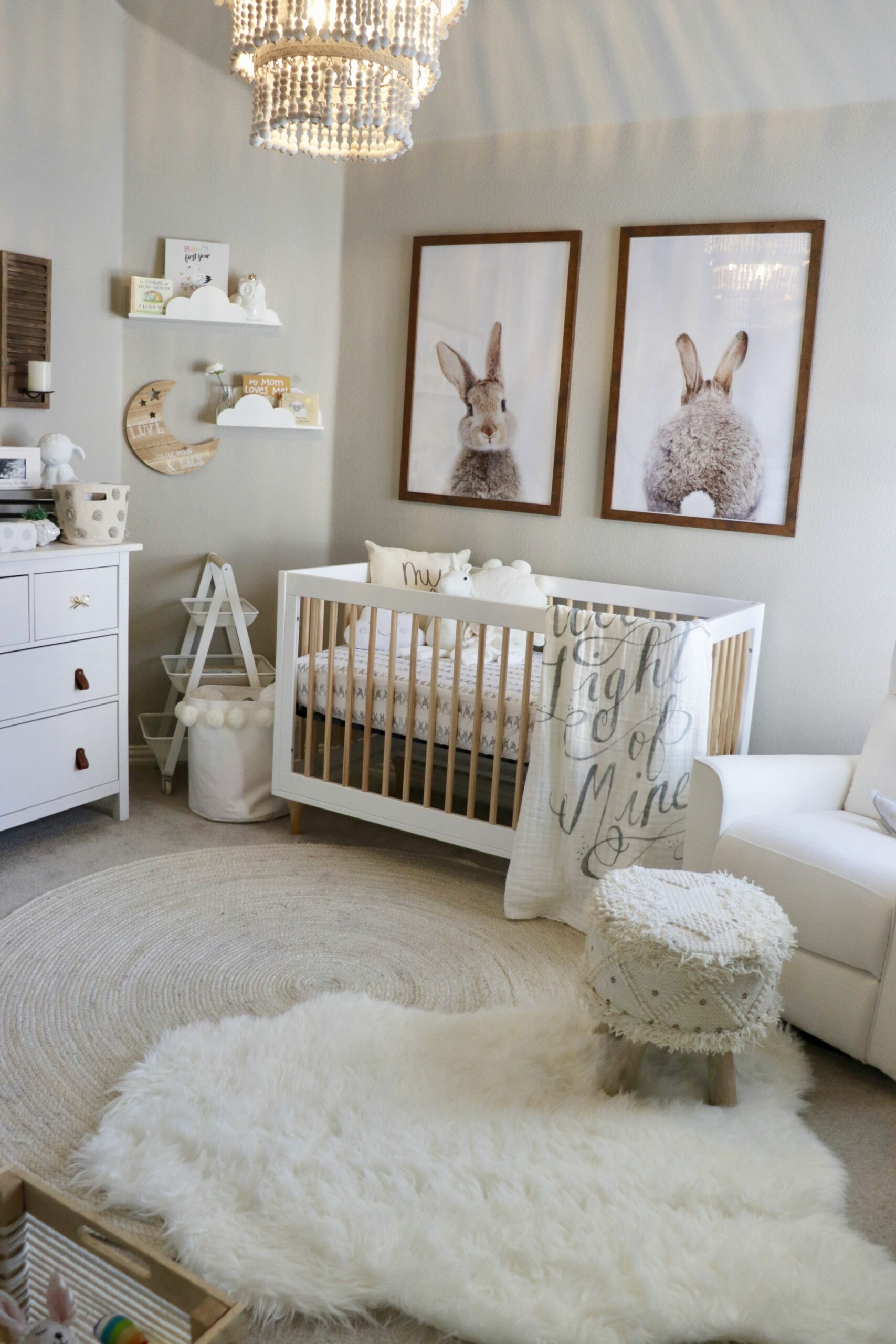 Classic Baby Girl Nursery (With images) | Nursery baby room, Baby ..