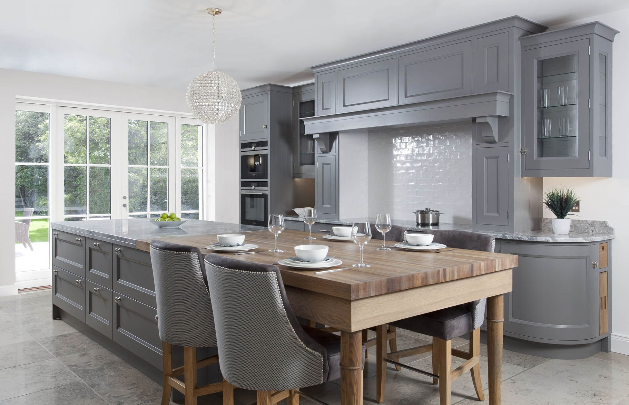 Classic inframe painted Kitchens Belfast, Northern Ireland - kitchen ideas belfast