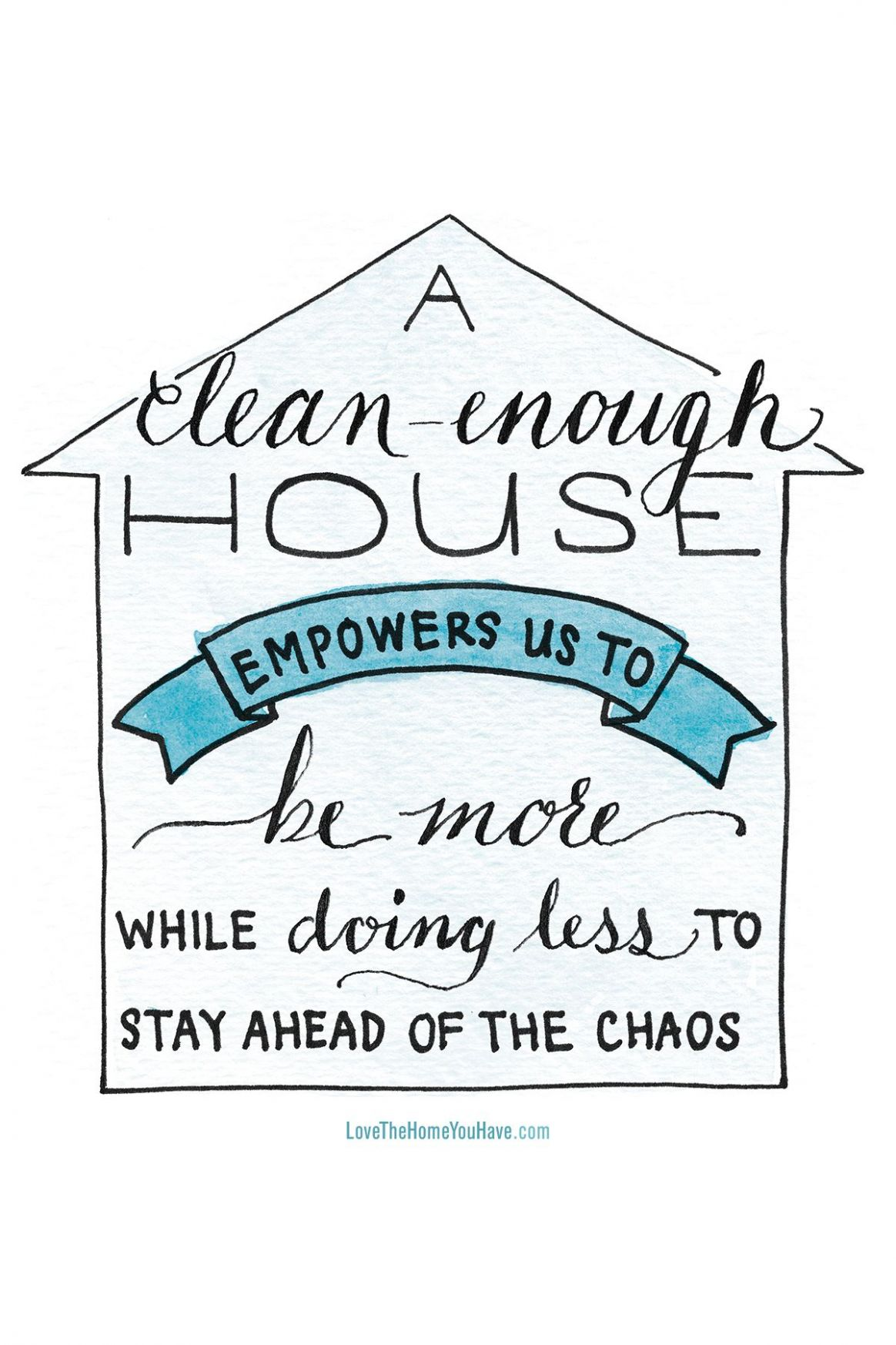 Clean Enough House - Inspiration from the new book Love the Home ..