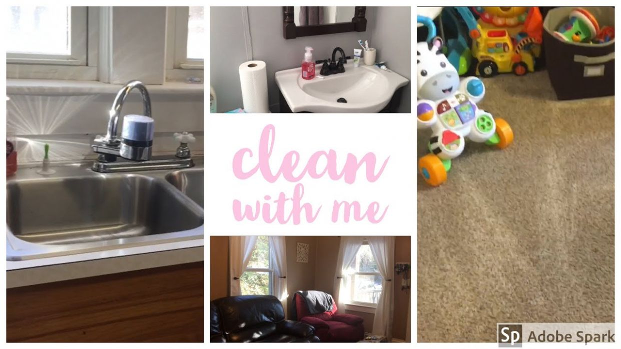 CLEAN MY WHOLE HOUSE WITH ME | CLEANING INSPIRATION