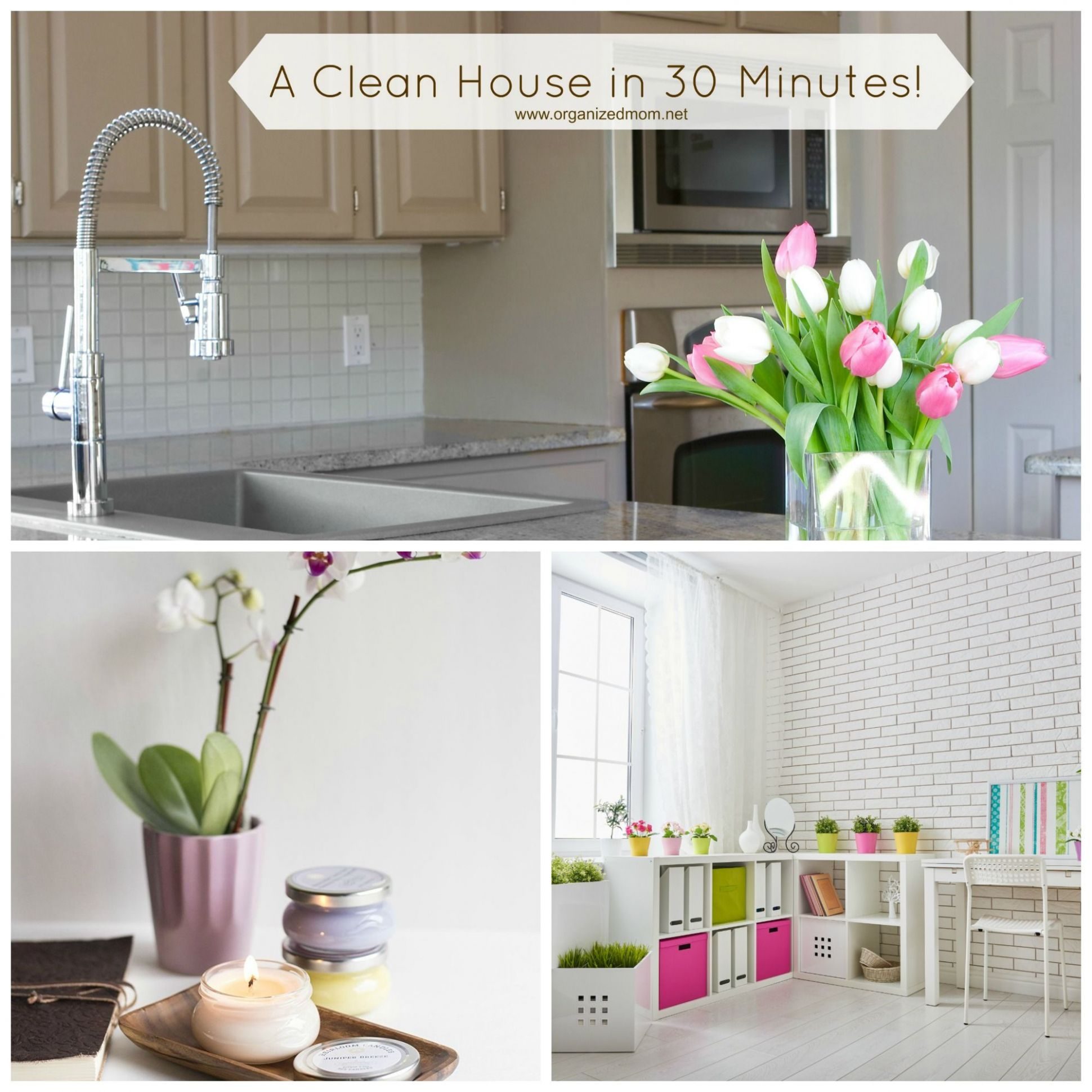 Clean your house in less than 12 Minutes! (With images)   Cleaning ..