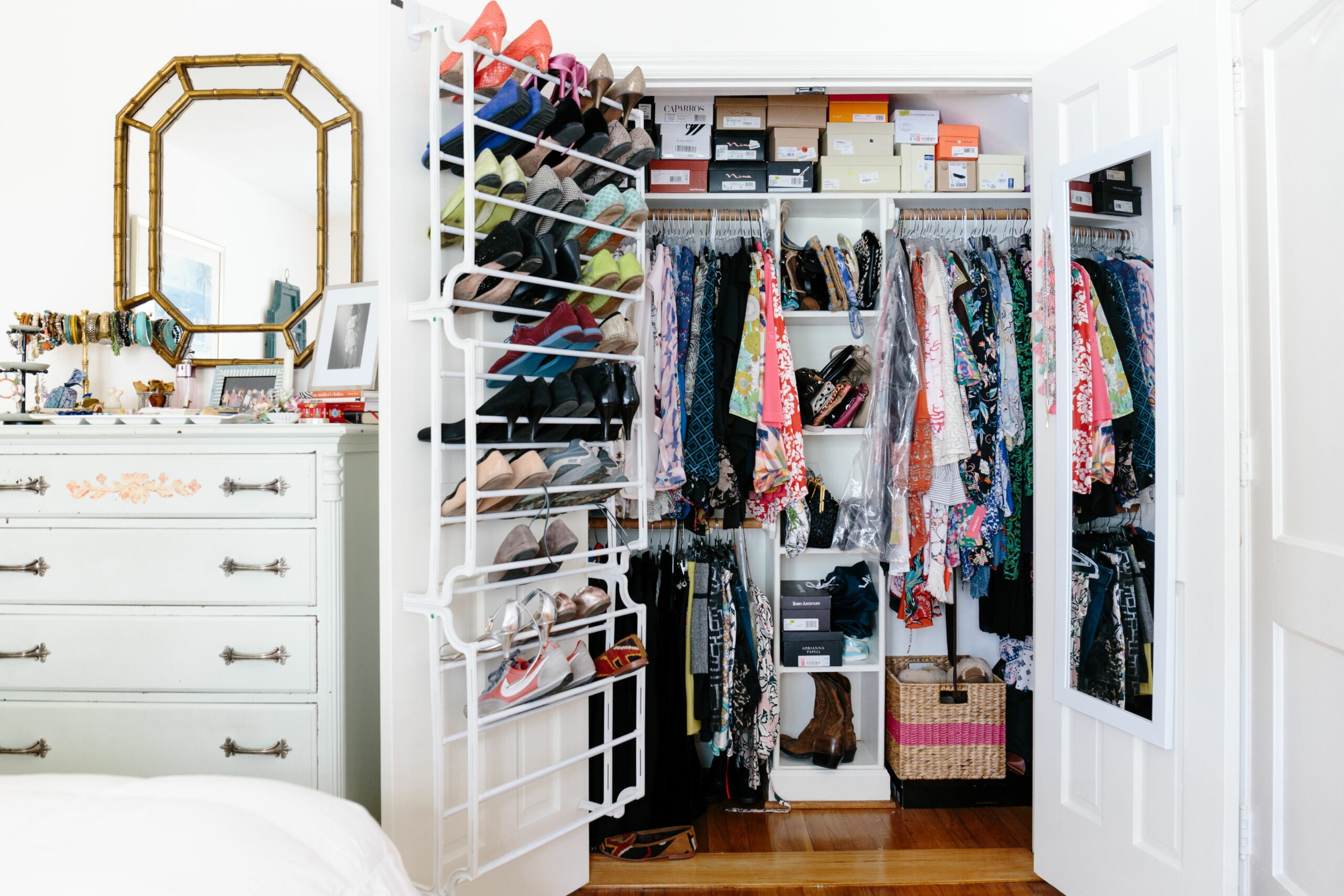 Closet Storage Ideas - Small Closet Organization | Apartment Therapy - closet ideas in apartment