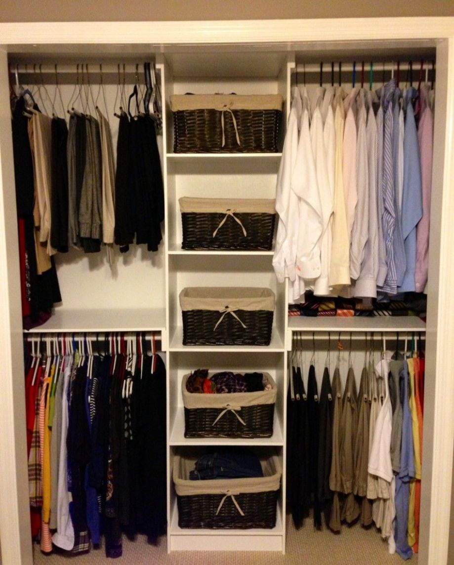 Closets & Storages, : Simple Bedroom Closet Ideas With Minimalist ...