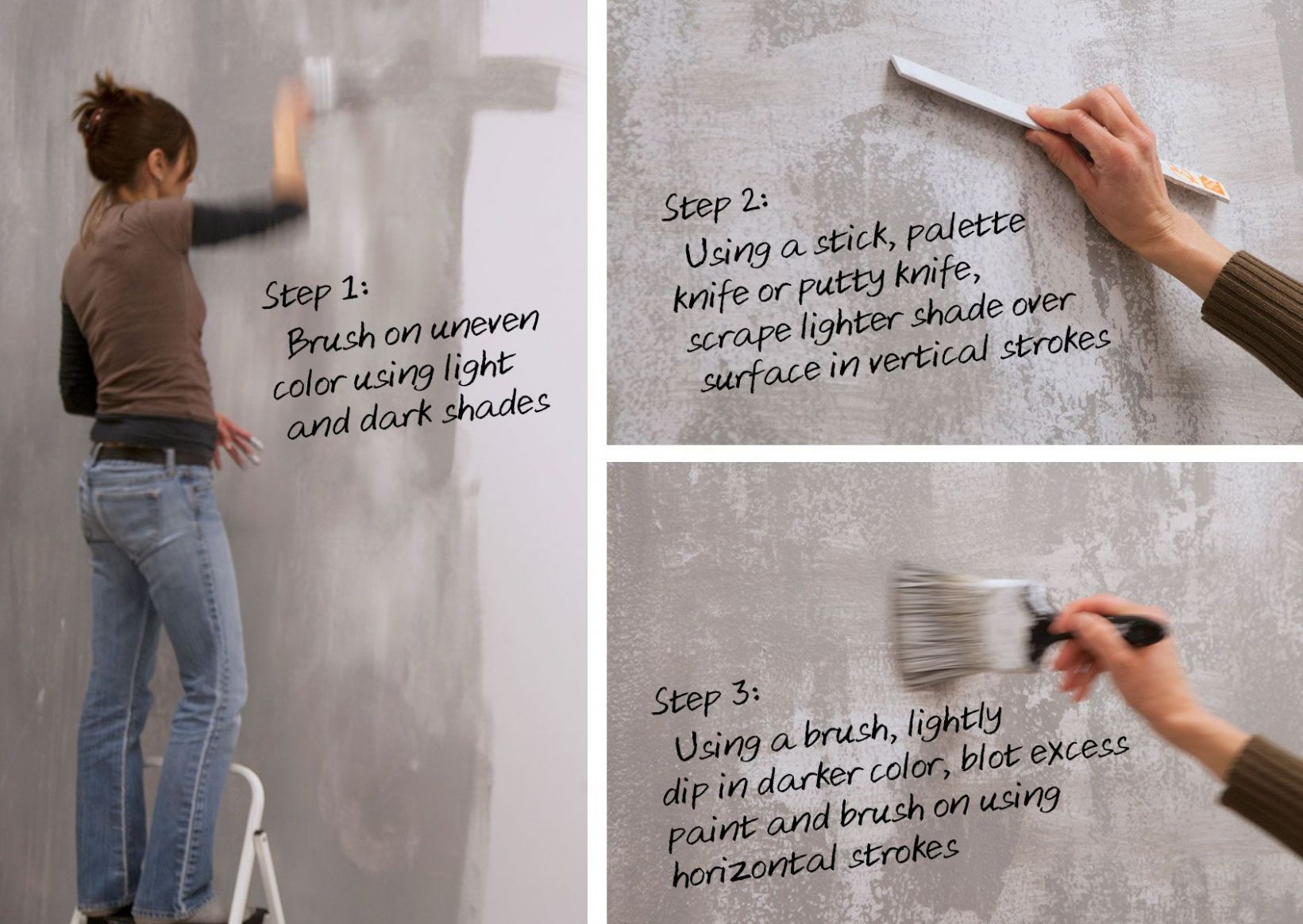 Concrete Wall Finishing Techniques | By Colleen Stiles | 9-9 ...