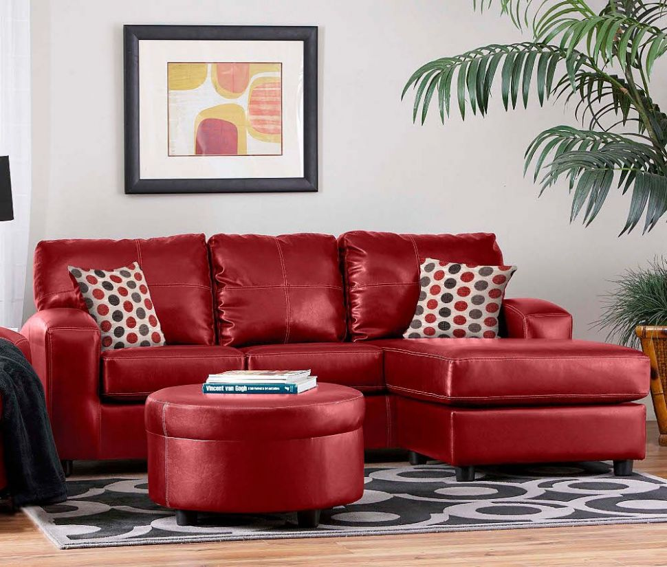 Contemporary Red Couch Decorating Ideas and the Beautiful Interior ..