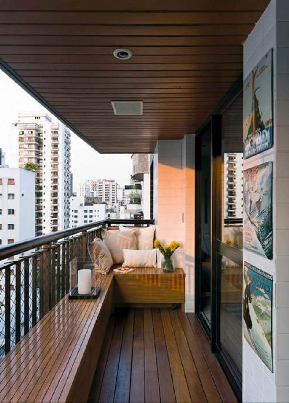 Cool Idea To Decorating A Small Balcony : Awesome Ideas to ..