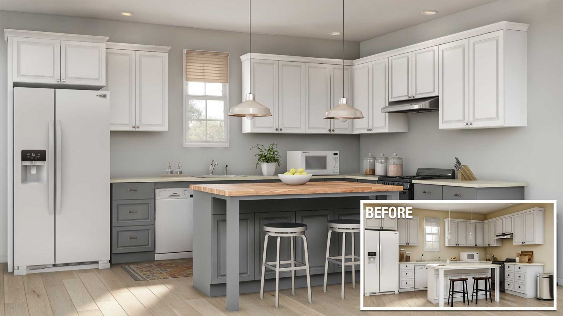 Cost to Remodel a Kitchen - The Home Depot - kitchen ideas home depot