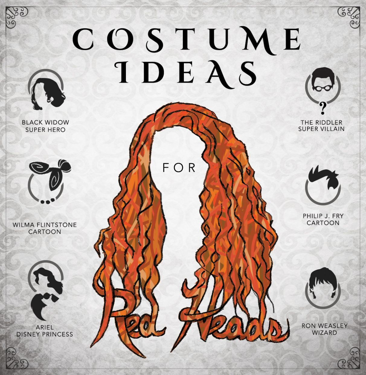 Costume Ideas for Redheads - HalloweenCostumes