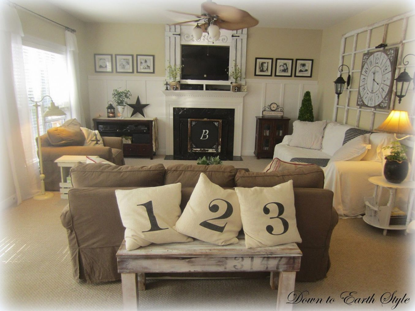 Country Living Decorating Ideas Amazing Small Room Traditional ..