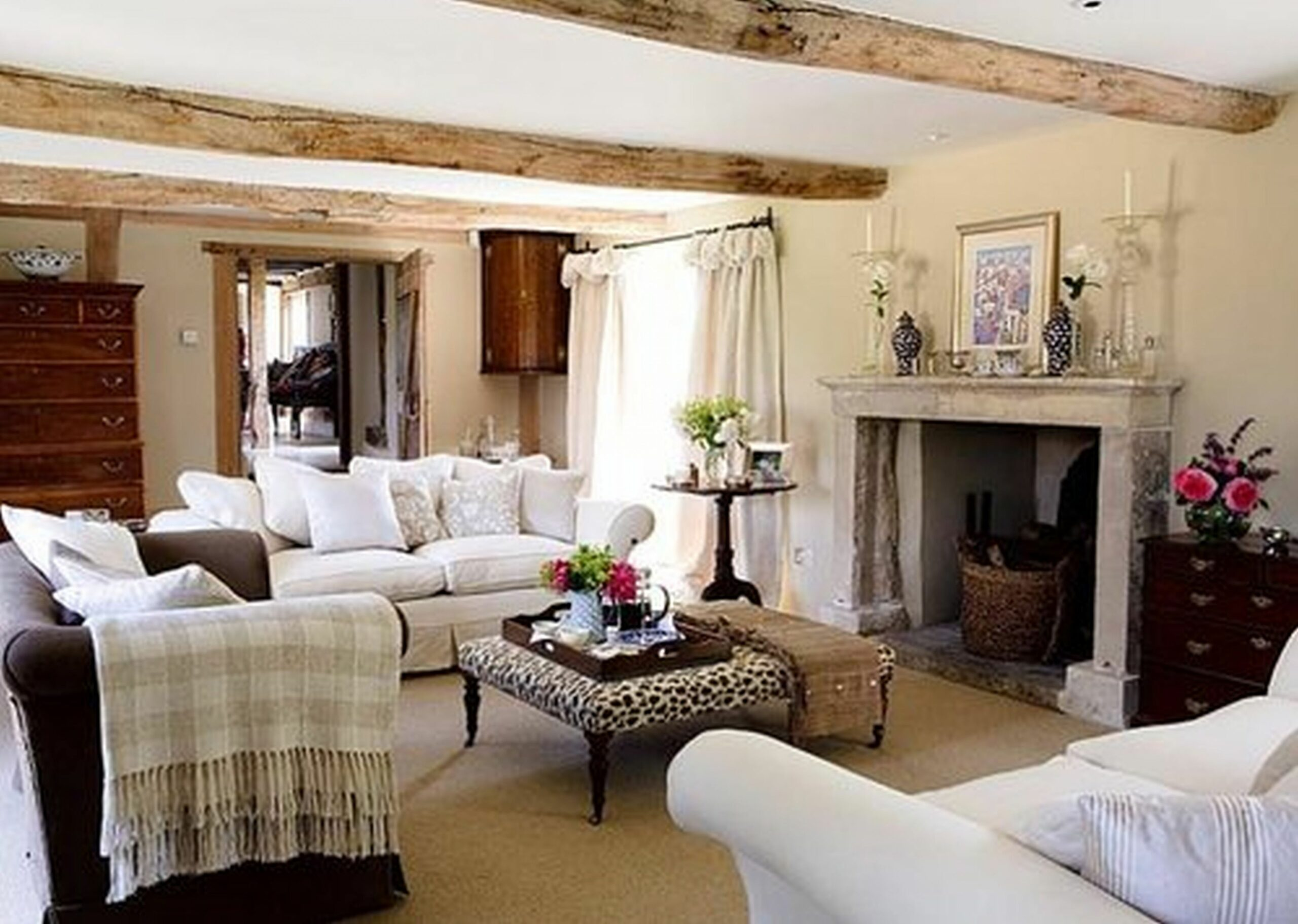 Country Living Room Ideas Collection Rustic Cozy Rooms Layout And ..