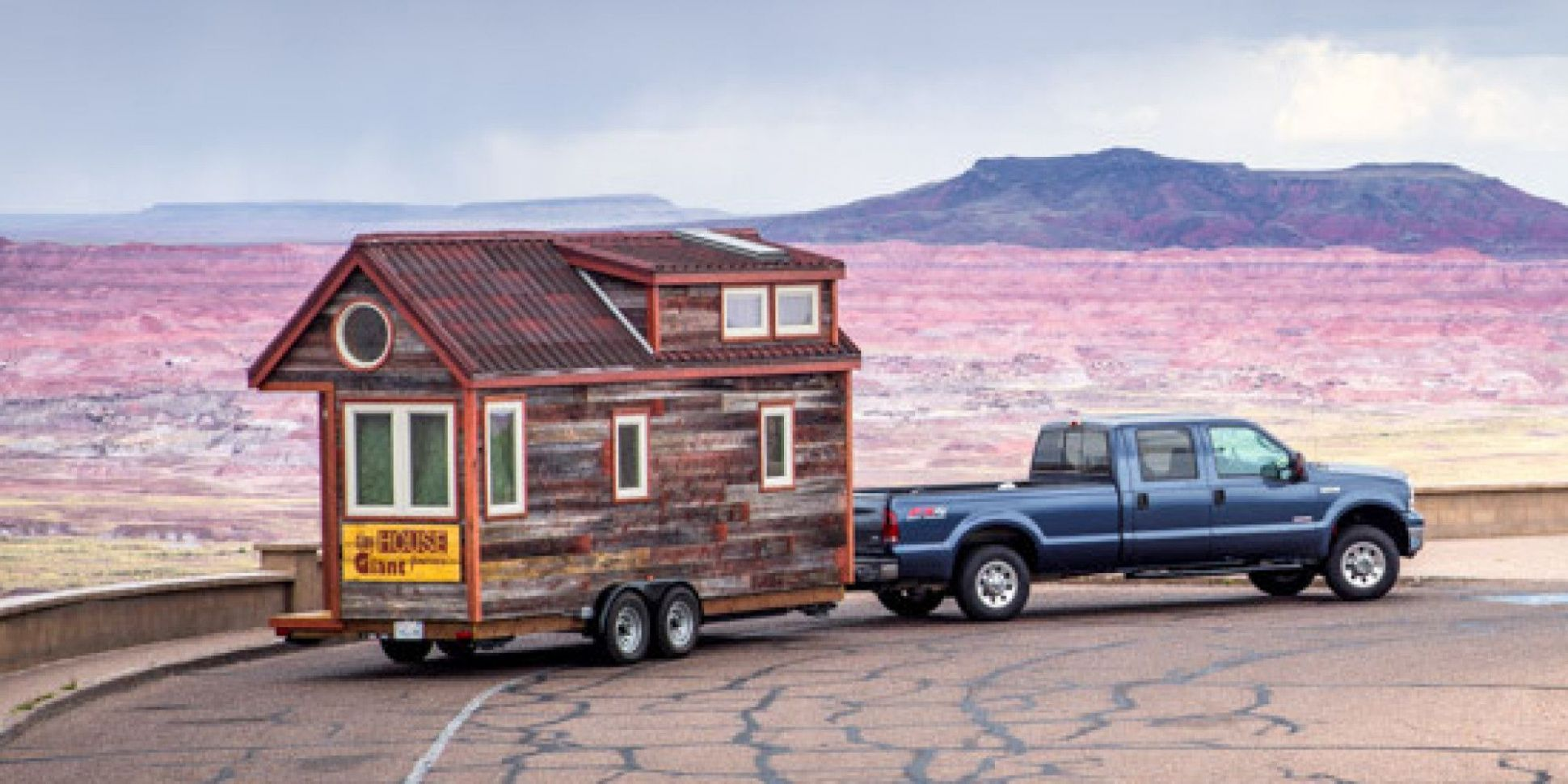 Couple Quits Day Jobs, Builds Quaint, Tiny Home On Wheels To ..