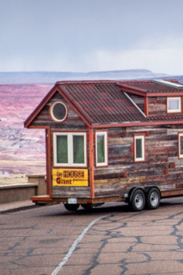 Couple Quits Day Jobs, Builds Quaint, Tiny Home On Wheels To ...