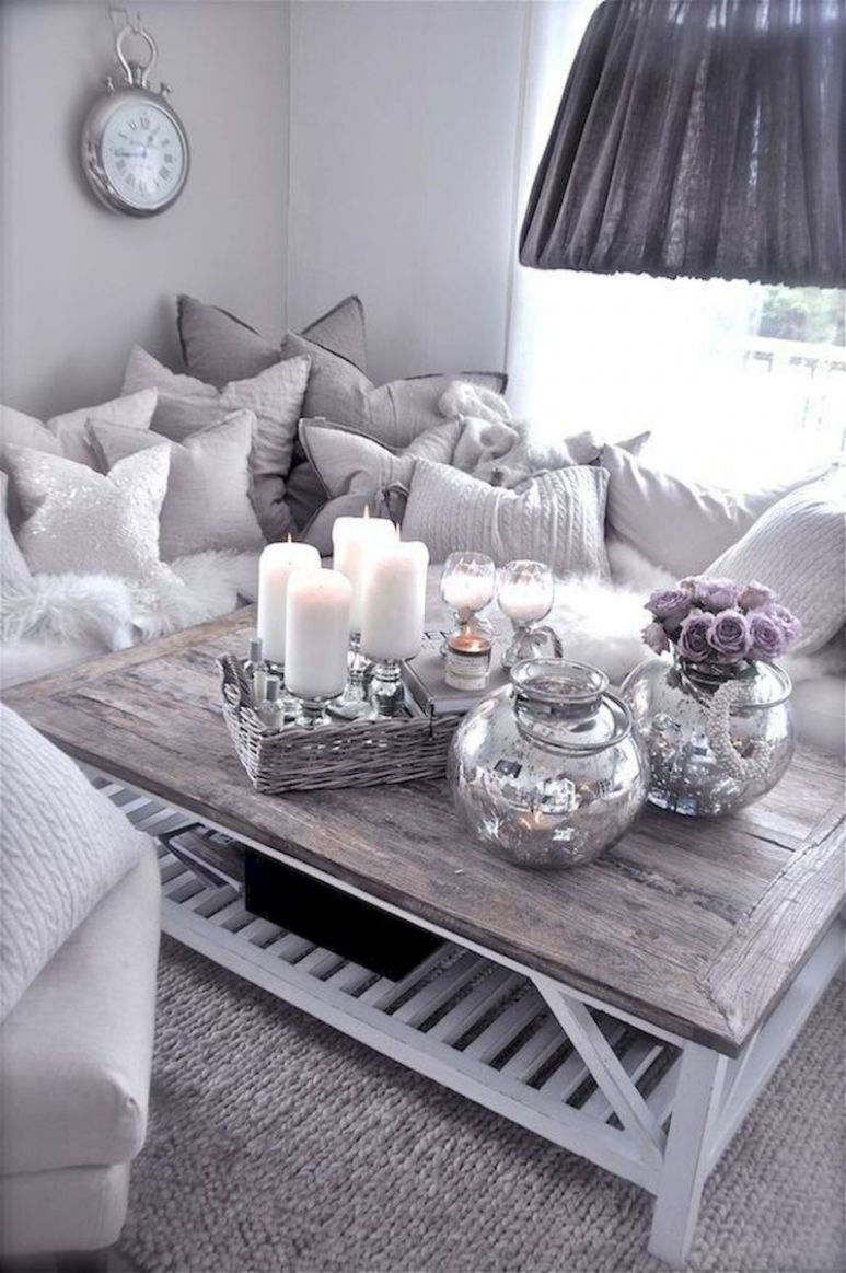 Cozy apartment decorating ideas on a budget (10 | Coffee table ..