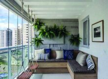 Cozy Veranda Ideas and Style Ideas (With images)   Apartment patio ...