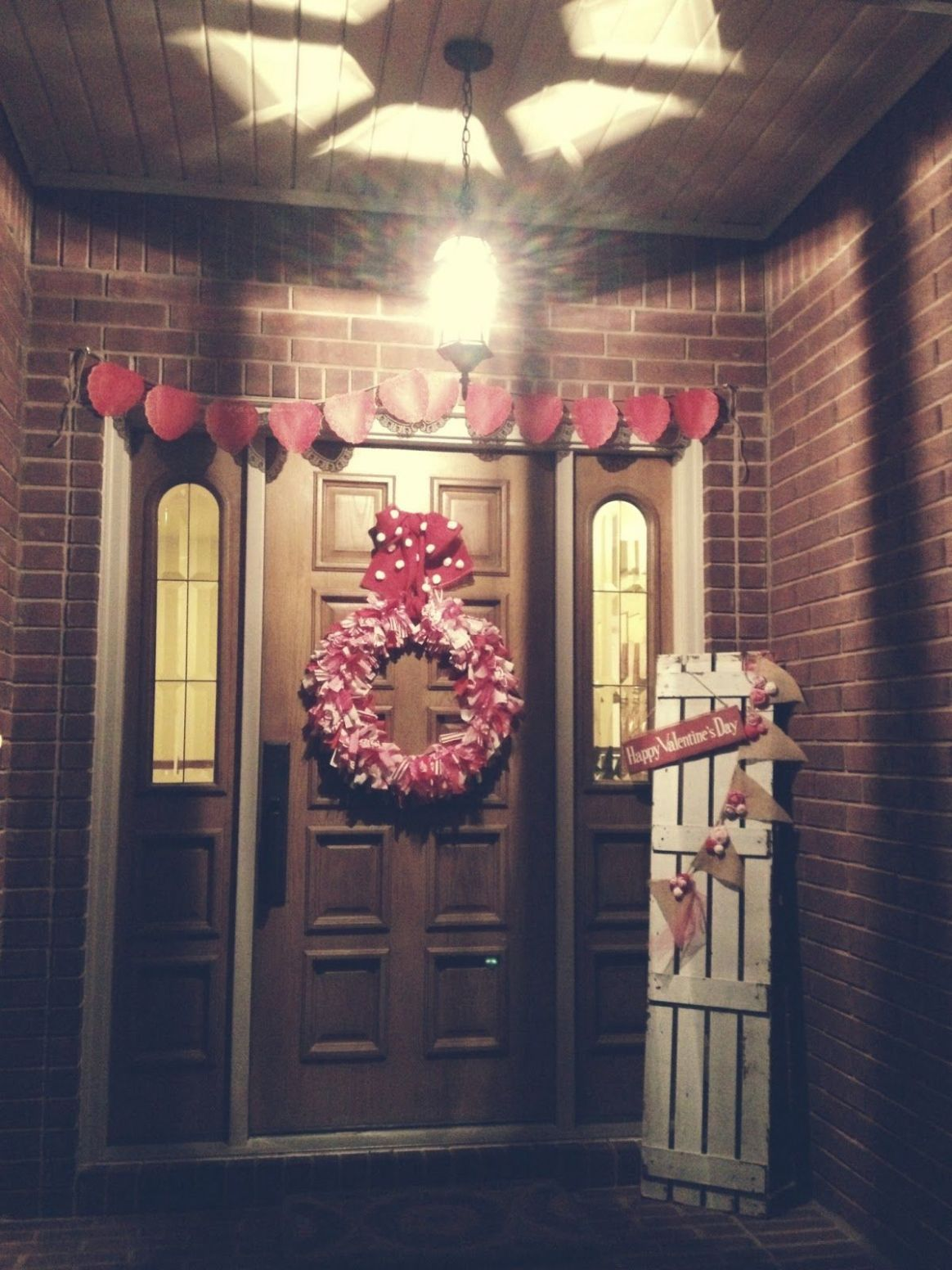 craft party. (With images) | Valentines outdoor decorations ...
