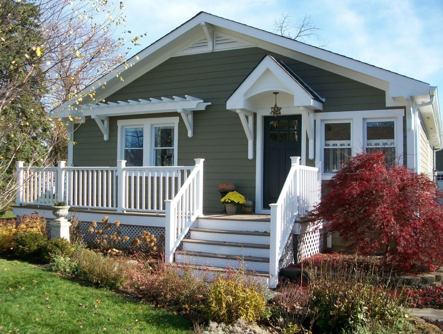 Craftsman Bungalow Front Porch   Home Design Ideas in 9   Front ...