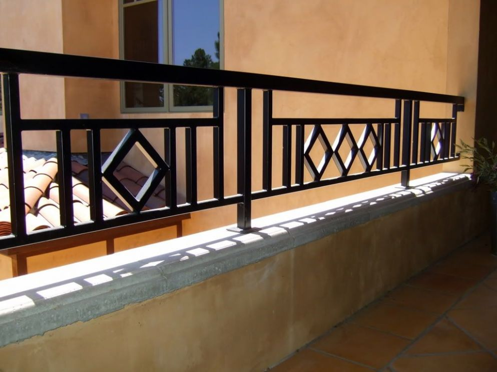craftsman style metal balustrade for balcony - Google Search ..