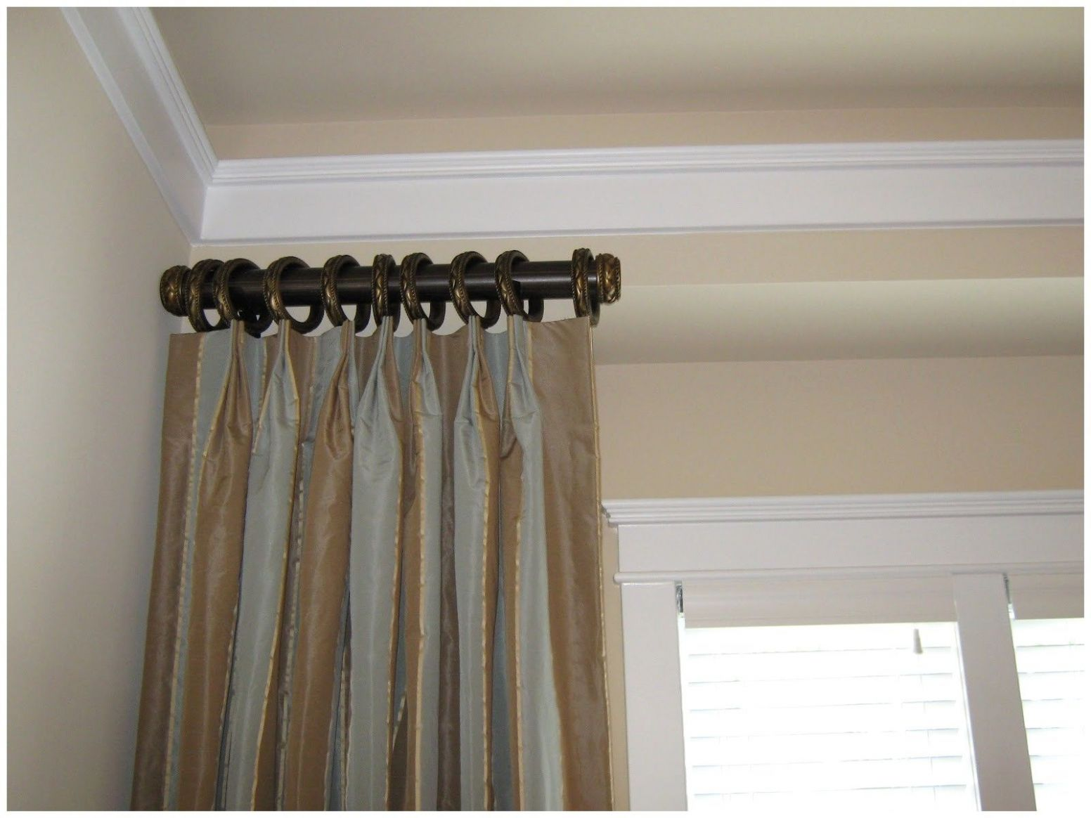 Crane Style | Small curtain rods, Short curtain rods, Long curtain ..