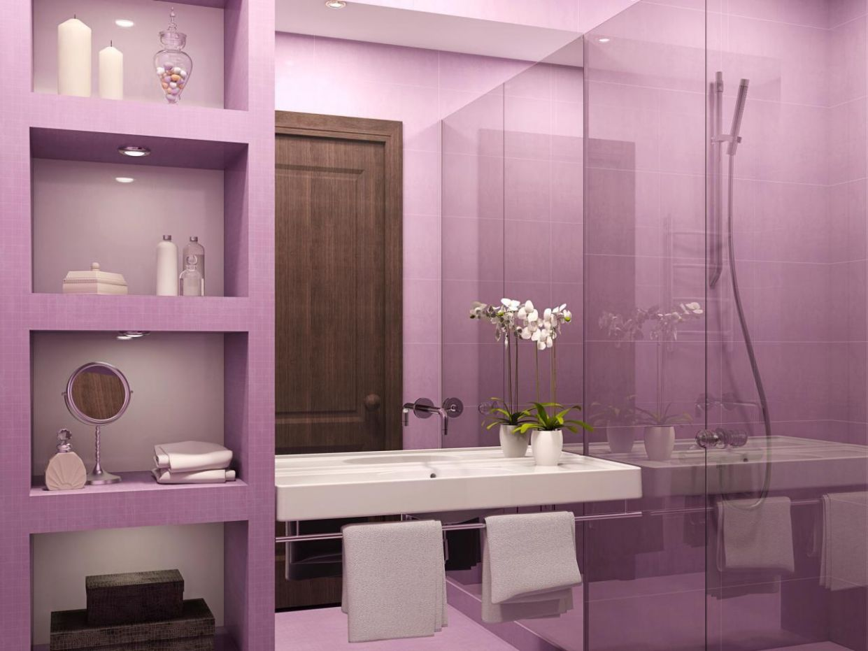 Crazy Purple Bathroom Ideas That Every Man Dream About (in ...