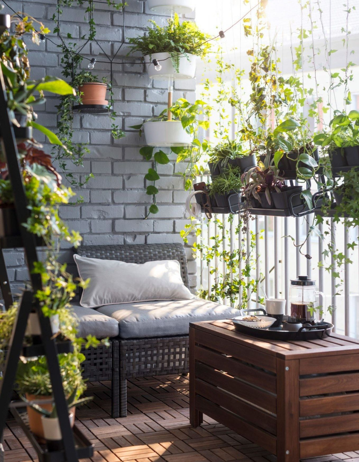 Create privacy with plants in 11 | Apartment balcony decorating ...