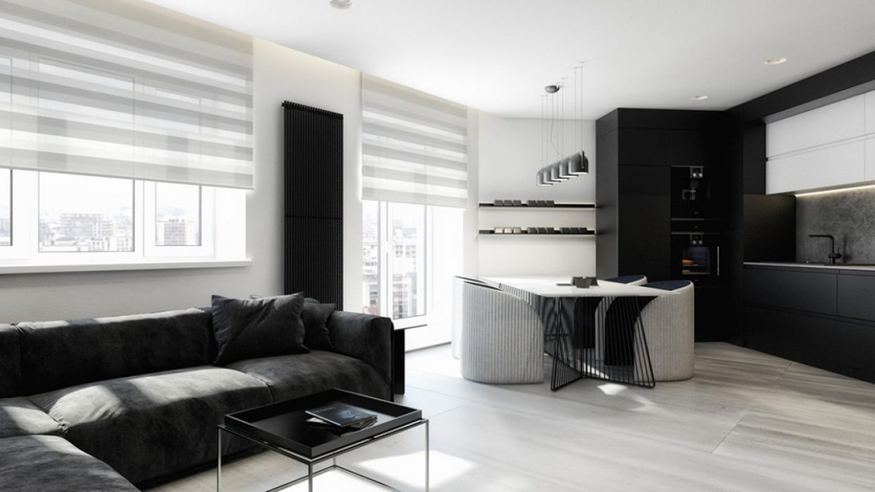 Creating A Minimalist Black And White Apartment Decorating Ideas ..