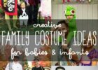 Creative DIY Costume Ideas For Mom, Dad and Baby // Themed Family ...